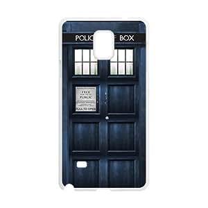 Doctor Who's TARDIS Cell Phone Case for Samsung Galaxy Note4 WANGJING JINDA