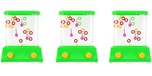 Fun Express Rings Handheld Plastic Water Game - 3 Set of 12 Bundled by Maven Gifts