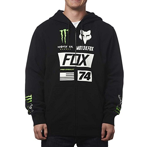 Fox Racing Monster Union Zip-Up Hoody-2XL