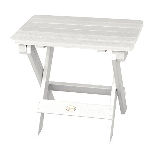 Highwood Folding Adirondack Side Table, White ()