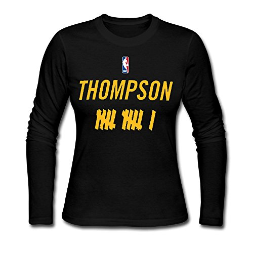 quality design 75c15 81510 Women's Golden State Warriors Klay Thompson 11 Long Sleeve T ...