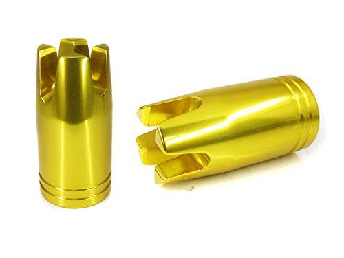- ProGear Aluminum Gimbal for Fish Rod Bottom (Gold Inside Diameter 1