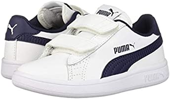 PUMA Boys' Smash V2 Velcro Sneaker