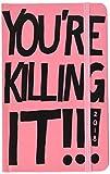 "ban.do design 17 Month Agenda 2017-18 Academic Calender, Your Killing It, 5.125"" x 8.125"" (70535)"
