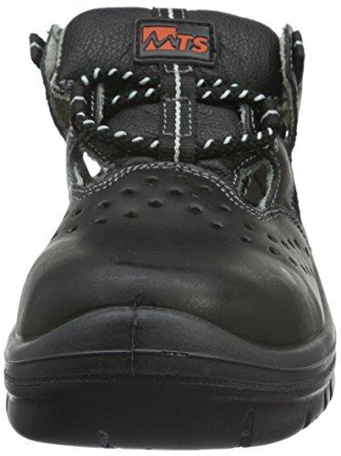 MTS Sicherheitsschuhe Naxos S1 15128 - Calzado de Protección Unisex, Negro (Schwarz), 38