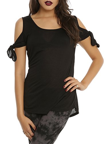 Angel Wings Cold Shoulder Top Size : Small