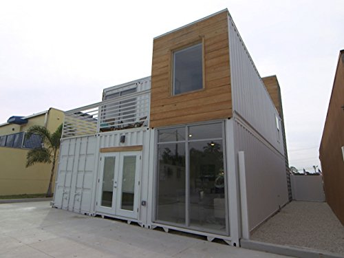 Service Industrial Container - Industrial Chic Container Home