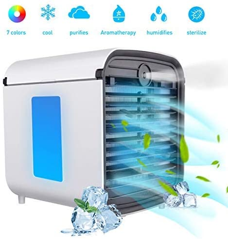 GJXY Aire Acondicionado Portátil Air Mini Cooler - 3 en 1 ...