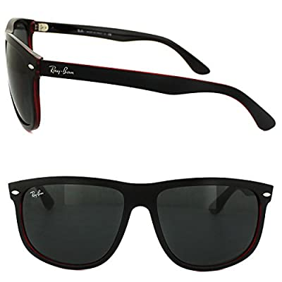 Ray-Ban-0RB4147-Square-Sunglasses--Black-On-Red-Transparent-Dark-Grey---Top-Mat-Black--60-mm