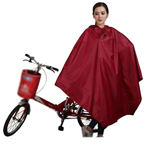 Mode Libre Capucha Single Sólido Bicycle Electric Color Poncho De Marca Al Moda Aire Impermeable Con 1 Hat zgFq1zn