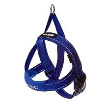 EzyDog Quick Fit Dog Harness, X-Large, Blue