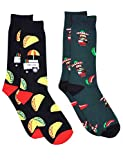 Fine Fit Mens Novelty Print Trouser Socks 2 Pair