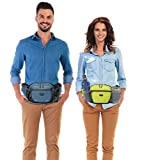 MiyCoo Fanny Pack for Men Women with Water Bottle