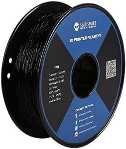 SainSmart Black Flexible TPU 3D Printing Filament, 1.75 mm, 0.8 kg, Dimensional Accuracy +/- 0.05 mm