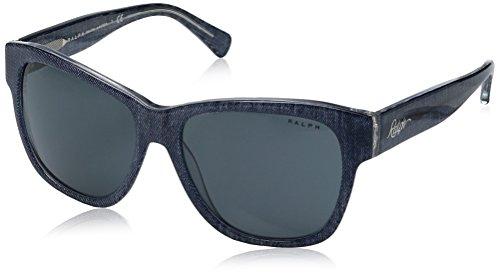 Ralph Lauren Sunglasses Women's 0ra5226 Square, Blue Denim Crystal, 56 - Sunglasses Blue Ralph Lauren