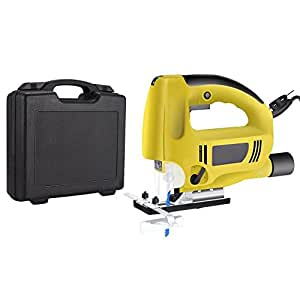 800W Laser Jig Saw with LED Light,Variable Speed Power Tools Includes Carrying Case(US STOCK)