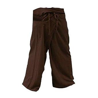 Amazon.com: Yoga pantalones pantalones Thai Pescador ...