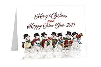 6 Pack Happy New Year Cards Have a Great 2019