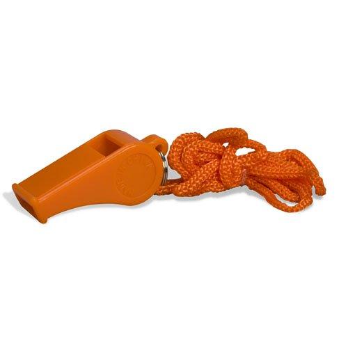 Whistle, plastic, 1 per ziplock bag