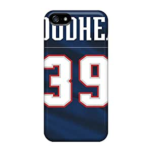PhilHolmes Iphone 5/5s Shock-Absorbing Hard Phone Cover Allow Personal Design Colorful New England Patriots Pictures [oqx7825zlHi]