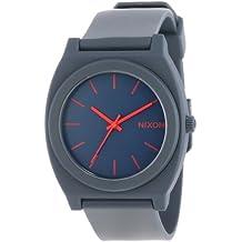Nixon Men's A119692-00 Time Teller P Analog Display Japanese Quartz Blue Watch