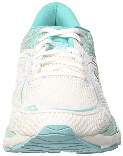 19 white silver Scarpe show Asics Running Lite aruba Blue Da Donna Bianco Gel cumulus xTqwxCR1
