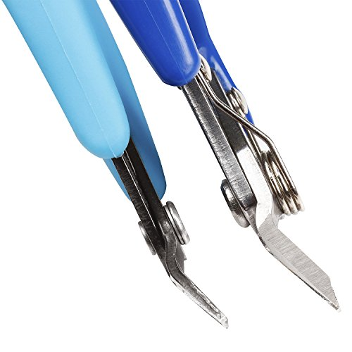 TDOK wire crimp flush cut pliers side cutting plier pin tools (Stainless Steel cutters) by TDOK (Image #2)