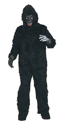 Plush Gorilla Costume Adult Standard