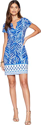 UPF Early 50 Lilly Sophiletta Women's Pulitzer Engineered Blue Riser Dress Twilight qSq1fEn