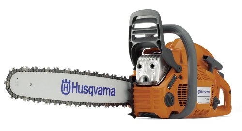 Husqvarna 460 Rancher 20-Inch 60.3cc 2-Stoke X-Torq Gas Powered Chain Saw (CARB Compliant)