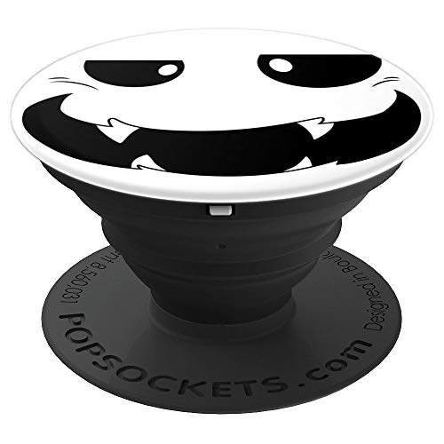 Vampire Halloween Faces Party Ghost Monster Pumpkin Ghoul PopSockets Grip and Stand for Phones and Tablets