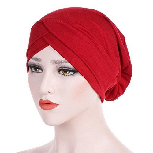 Turbans Solid ColorHead...