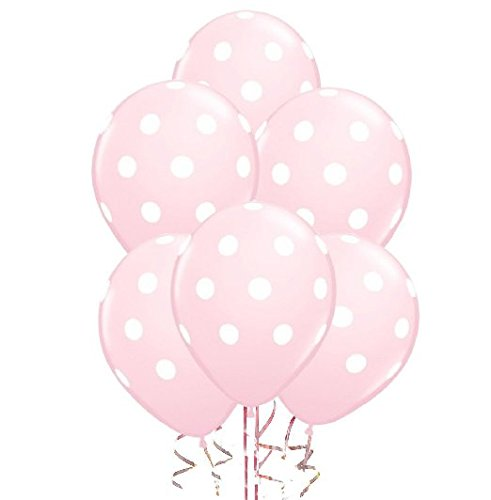 Together117-50-Pcs-12-Latex-Balloons-Pink-Polka-Dot-Balloons-for-Brithday-Balloon-Wedding-Balloon-decoration