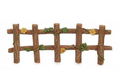 Miniature Dollhouse FAIRY GARDEN/ Ivy Fence