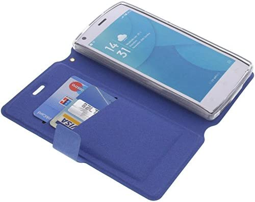 foto-kontor Funda para Doogee X5 MAX Pro X5 MAX Estilo Libro Azul Protectora: Amazon.es: Electrónica