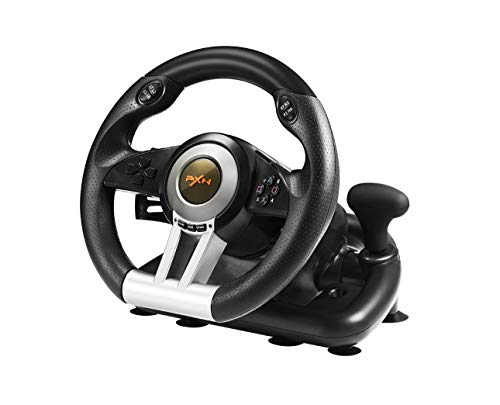 (Smartlove1P Popular 180 Degree Rotation Angle Sensitive Fashion Game Steering Consle Wheel)