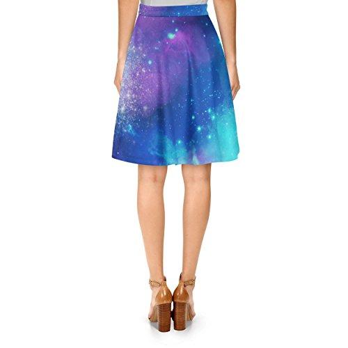 Beautiful Galaxy A-Line Skirt Rock XS-3XL