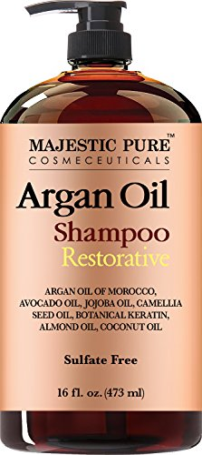Majestic pure argan oil shampoo.