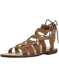 Amazon Brand - 206 Collective Women's Myrtle Gladiator Fashion Sandal Flat