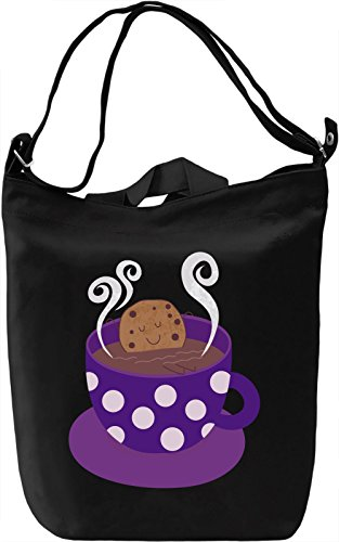 Keep Calm Cookie Borsa Giornaliera Canvas Canvas Day Bag  100% Premium Cotton Canvas  DTG Printing 