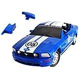 Herpa - 80657090 - 3D Ford Mustang - Standard - Bleu