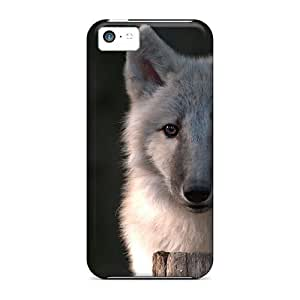 Flexible Tpu Back Case Cover For Iphone 5c - Young Wolve