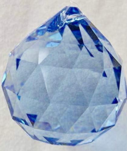 película Bangladesh Perceptible  Bola de cristal Swarovski de zafiro mediano 30 mm, Feng Shui, bola:  Amazon.es: Jardín