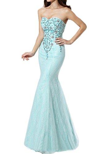 Festkleid Elegant Abendkleid Ausschnitt Spitze Grün Damen Partykleid Linie Etui Ivydressing Herz Promkleid Cq78fBx