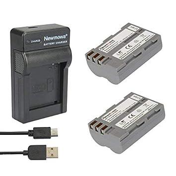 Newmowa® 2X Batería EN-EL3 + Micro USB Cargador para Nikon ...