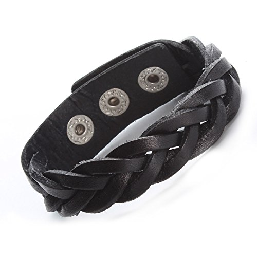 Godyce Genuine Leather Bracelet Braided