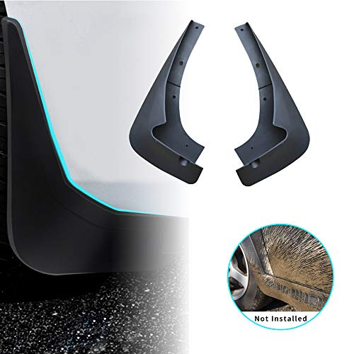 For Mazda CX7 CX-7 2008-2013 Car Mud Flaps Splash Guards Mudguard Front and Rear Fender Accessories 4Pcs Set with ()