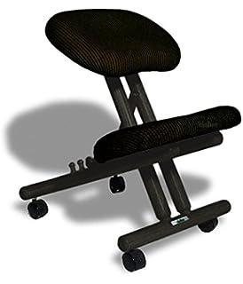 Awesome sedia ergonomica cinius col nera with sgabello - Sgabello ergonomico ikea ...