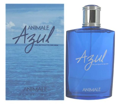 Animale Azul By Animale Parfumes For Men. Eau De Toilette Spray 3.4 Ounce -