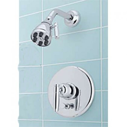 Rohl MBKIT32LMTCB Michael Berman Pressure Balance Shower Package Kit with Lever Handle, Tuscan Brass